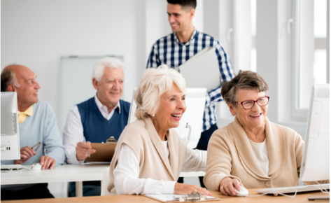 Atelier «Bien sur internet» pour les seniors